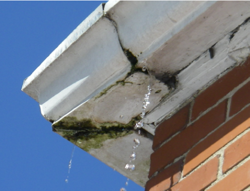 How to repair a leaking gutter joint in 5 Minutes