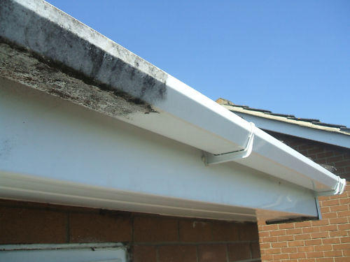Soffit and fascia washing