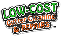 Low Cost Gutter Cleaning & Repairs Logo